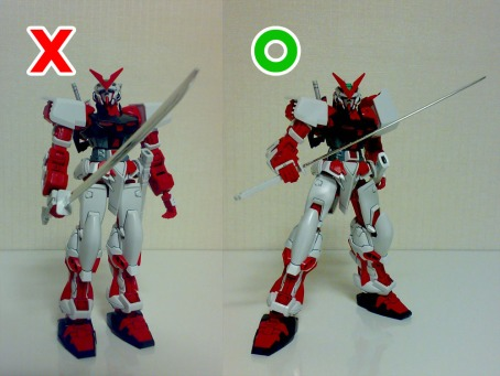 Gundam Seed Astray MBF-P02 Red Frame