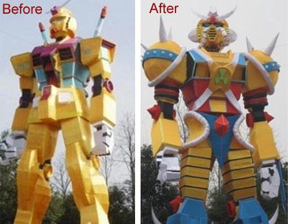 Chinese Gundam Rip-Off 2